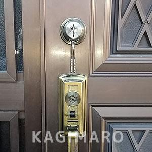 8年使用した鍵が壊れてしまったでのの鍵トラブル
